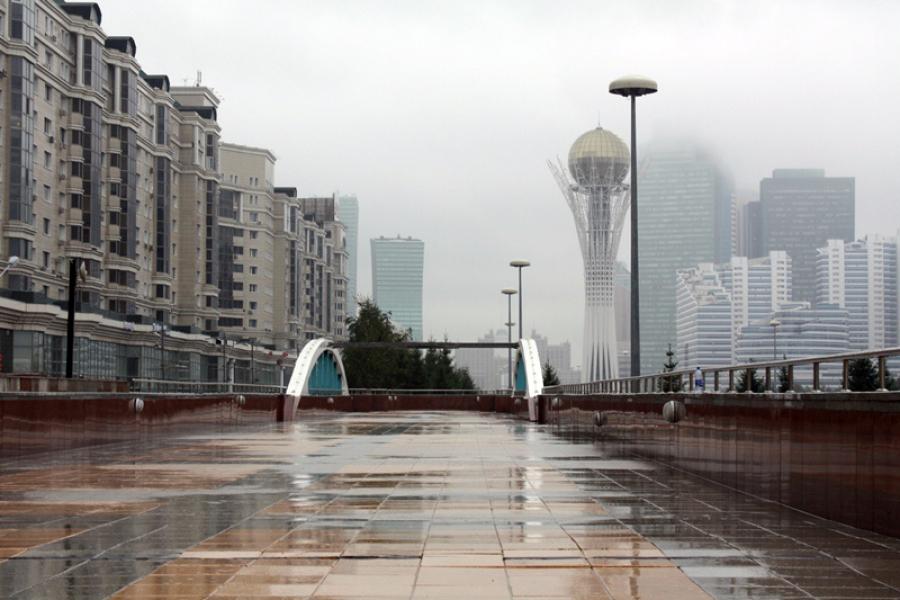 В ближайшие три дня в Астане ожидается дождливая погода