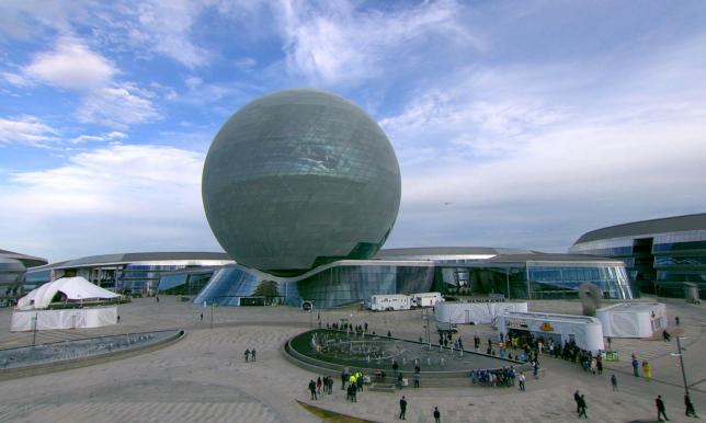 EXPO кешенінің құрылыс нысандарында 408 отандық кәсіпорын қызмет етті