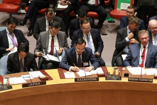 Казахстан принял участие в форумах ШОС, ОДКБ и СВМДА в Нью-Йорке