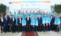 В Алматы состоялась церемония проводов олимпийской сборной Казахстана в Пхёнчхан-2018