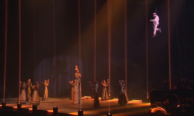 Премьера шоу от Цирка дю Солей прошла при полном аншлаге