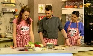 «Магия кухни». Гости: шеф-повар Эдвард Хеншел с супругой Сабиной Кинчинбаевой