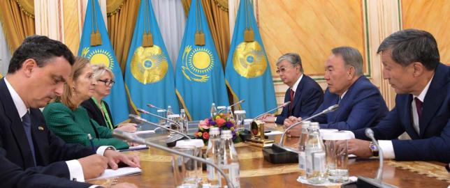 Президент РК встретился с председателем Конгресса депутатов Королевства Испания