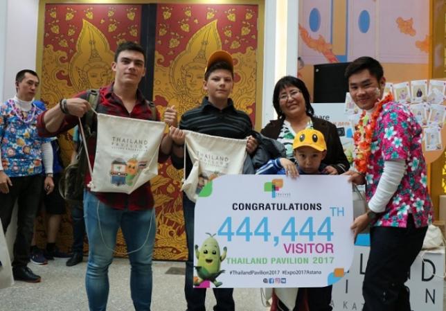 Павильон Таиланда на EXPO 2017 принял 444 444 посетителя