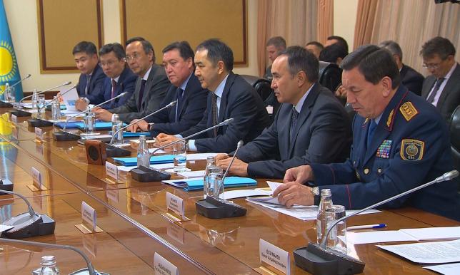 Создана рабочая группа по разработке Дорожной карты между Казахстаном и Кыргызстаном