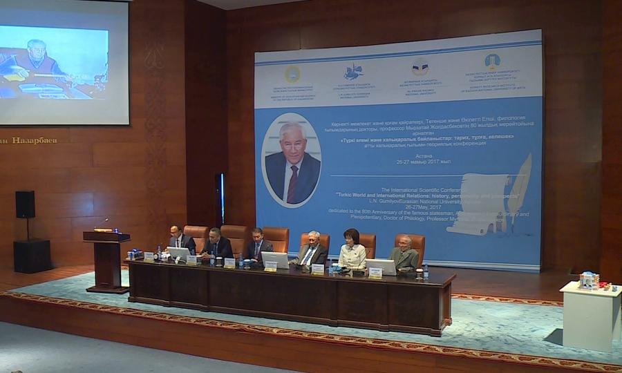 Мемлекет және қоғам қайраткері Мырзатай Жолдасбеков 80 жаста