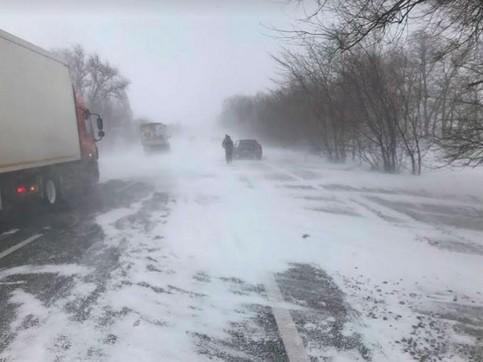 Более 500 человек спасены из снежного заноса в СКО
