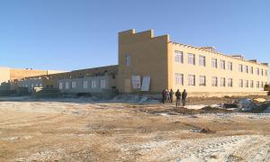 В Аягозе ведется строительство новой школы на 600 мест