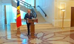 Полномочия президента Молдовы приостановлены