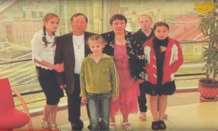 «Мерейлі отбасы» Әкімбаевтар отбасы. Ақмола обл. Көкшетау