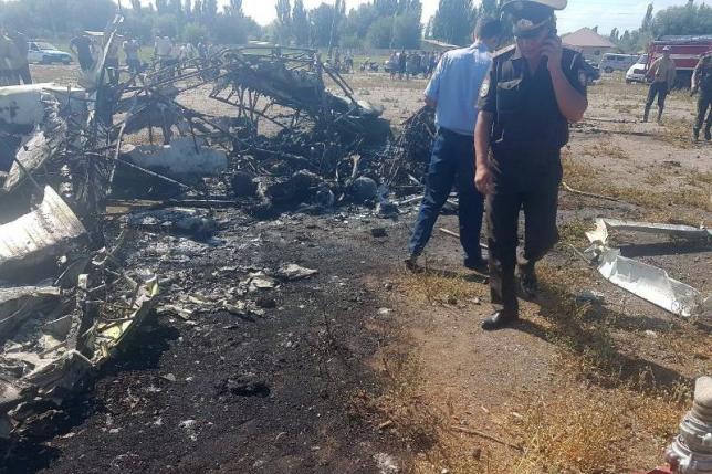 Стали известны имена погибших при крушении ЯК-12 в Алматинской области
