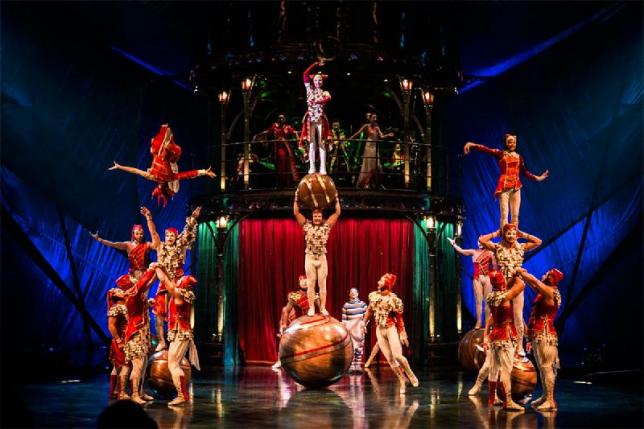 Cirque du Soleil привез специальные электромотоциклы для шоу в Астане