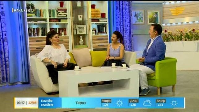 «Жаңа күн». Актриса Қаракөз Тілеубекова