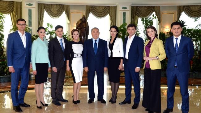 Встреча Нурсултана Назарбаева с представителями СМИ