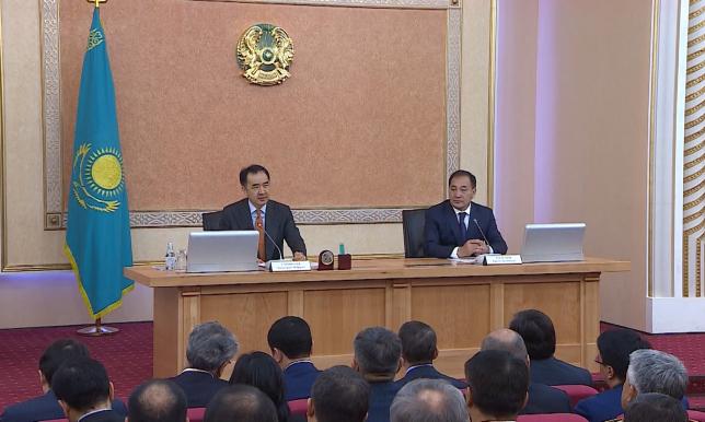 Премьер-Министр РК посетил ряд объектов Мангистауской области
