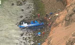 В результате ДТП в Перу погибли 48 человек