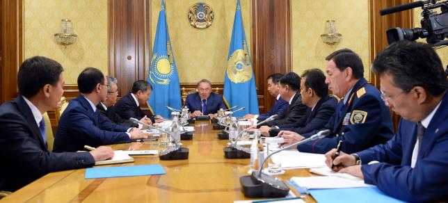 Глава государства провел Совещание по реформе правоохранительной системы Казахстана