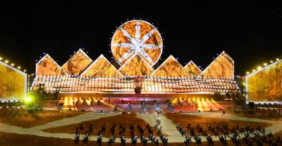 Церемония открытия Всемирных игр кочевников