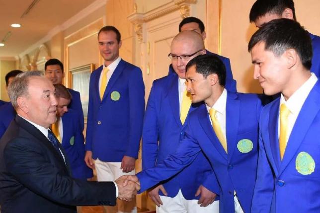 Н.Назарбаев: Олимпийское движение - важная часть строительства нового независимого Казахстана