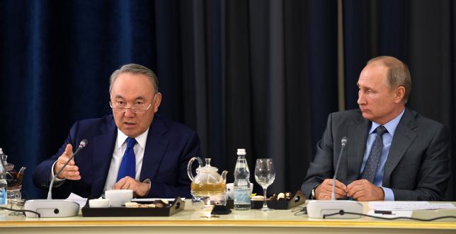 Елбасы Н.Назарбаев пен В.Путин Германия іскерлерімен кездесті