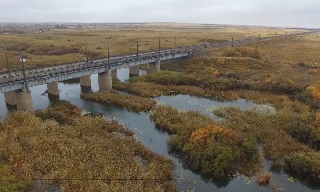 Ақмола облысында Жабай өзені тазартылып жатыр