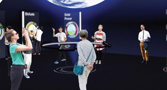 Франция павильонында термоядролық реактор жобасы көрсетілді