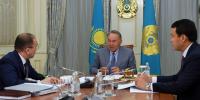 Н.Назарбаев провел встречу с министром информации и коммуникаций Дауреном Абаевым
