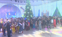 200 детей из разных уголков страны услышали поздравление с Новым годом от Президента РК