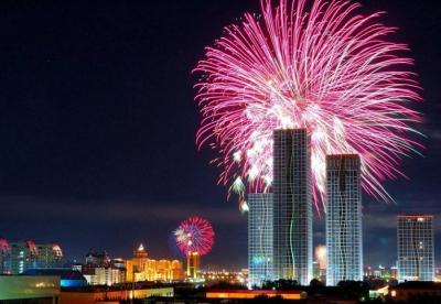 В новогоднюю ночь в Астане ожидается грандиозная шоу-программа