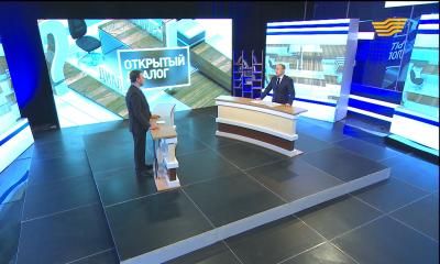 «Открытый диалог с Дауреном Абаевым». 100 новых лиц