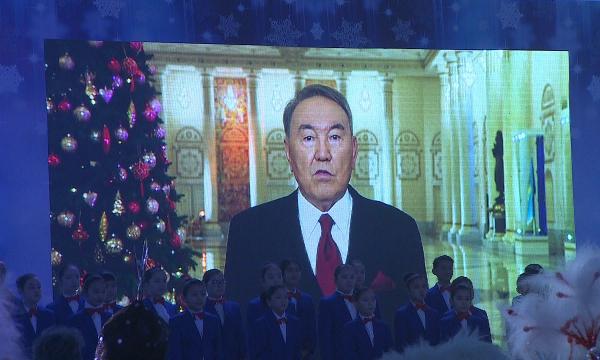 В Астане прошла Президентская ёлка