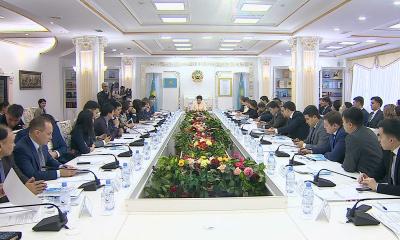 В Астане состоялось ХХ заседание Совета по молодежной политике