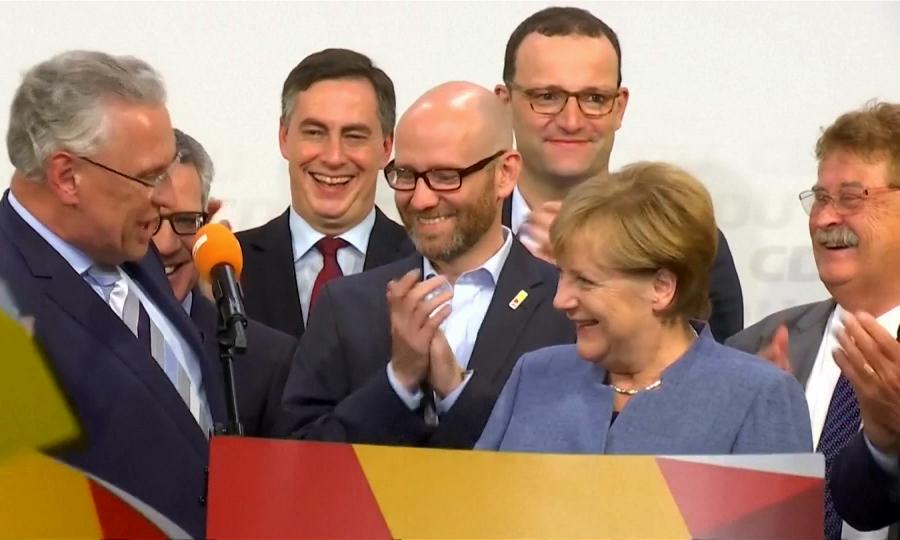 Ангела Меркель переизбрана в бундестаг