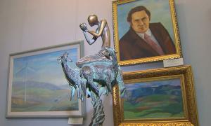 В Алматы в музее искусств открылась выставка «Наша эра»