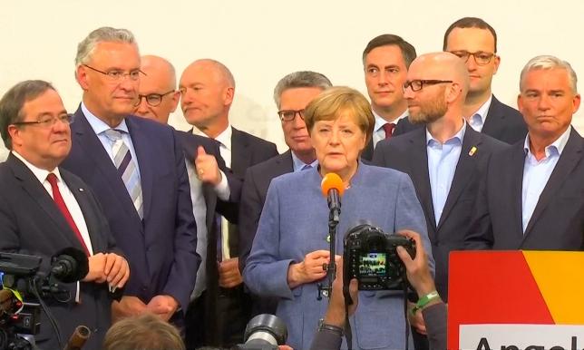 Итоги парламентских выборов подвели в Германии