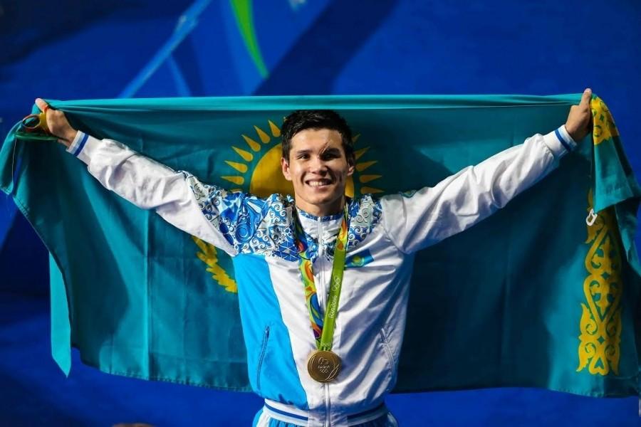 Данияр Елеусинов стал олимпийским чемпионом по боксу