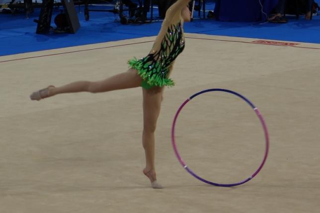 Чемпионат Азии по художественной гимнастике проходит в Астане