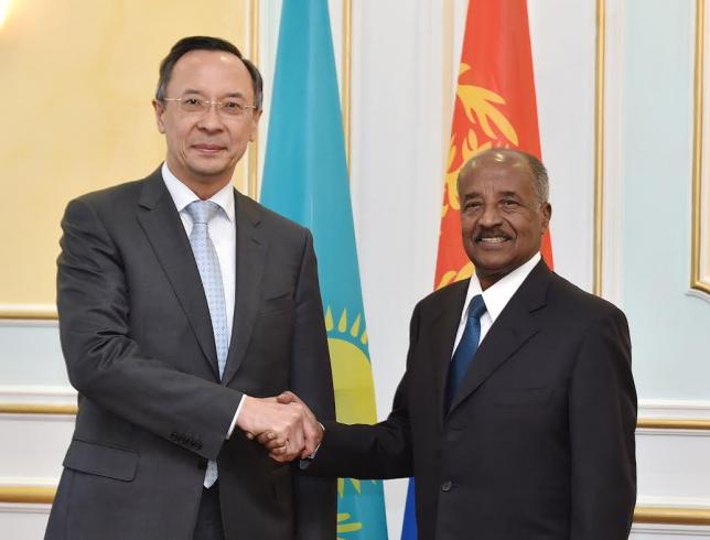 Қазақстан мен Эритреяның Сыртқы істер министрлері ынтымақтастық мәселелерін талқылады