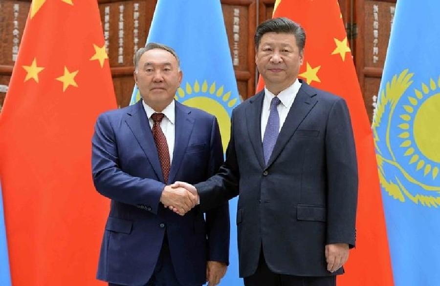 Нурсултан Назарбаев прибыл срабочим визитом в КНР
