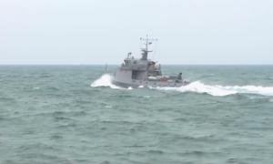 Казахстанские военные моряки встретили Новый год на боевом посту