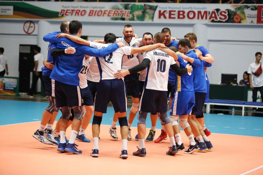 Сборная Казахстана по волейболу вышла в финал чемпионата Азии