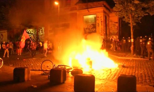 В €12 млн оценен ущерб от беспорядков во время саммита G20 в Гамбурге