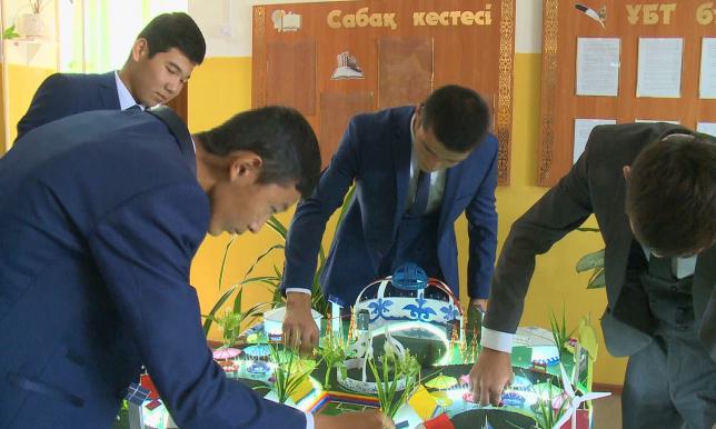 Школьники разработали проект этноаула на берегу Каспийского моря