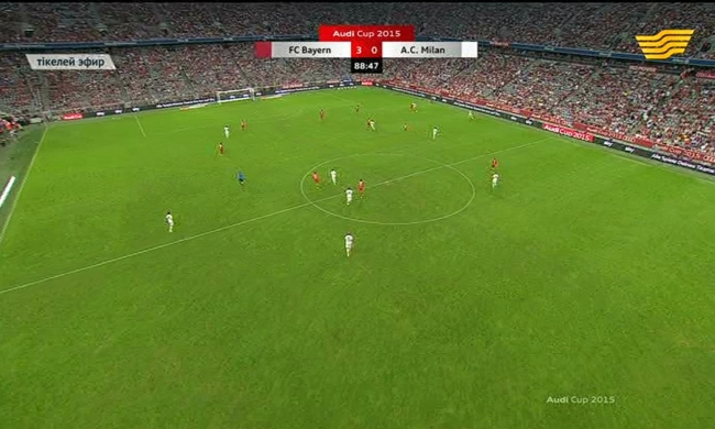 «Audi cup. «Бавария» - «Милан» 3:0