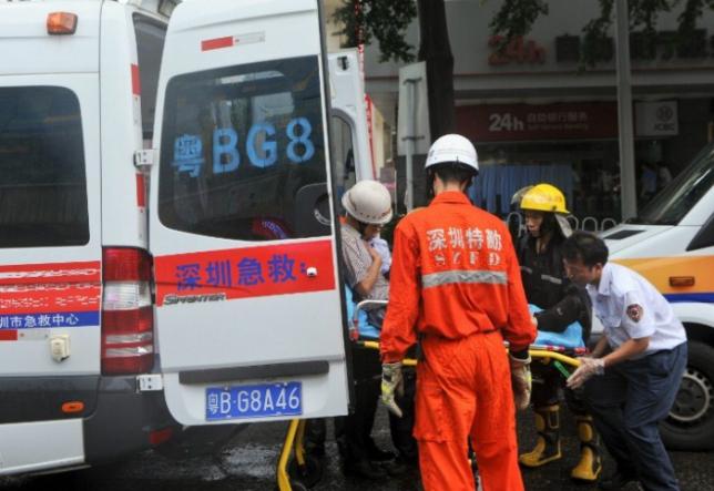 На юге Китая перевернулся автобус с 44 пассажирами