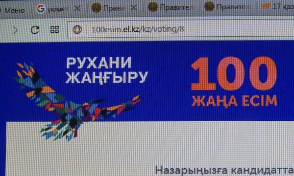 Сегодня станут известны победители конкурса «100 лиц Казахстана»
