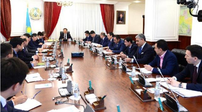 Б.Сагинтаев принял участие в заседании Экспертного совета по конкурентоспособности