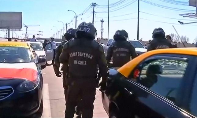 В Чили во время протестов против Uber умер человек