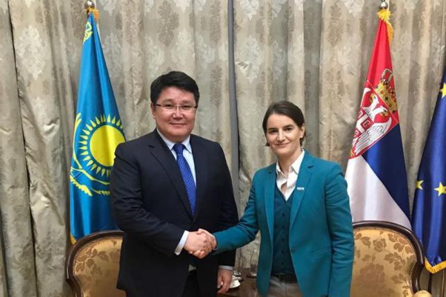 Посол РК в Венгрии встретился с премьер-министром Сербии