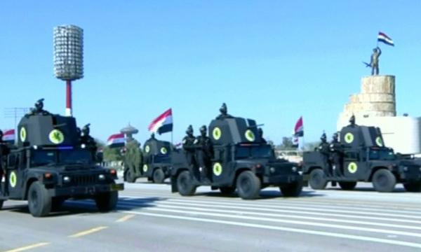 Военным парадом отметили в Ираке победу над ТГИЛ